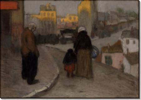 Уличная сценка - Пикассо, Пабло