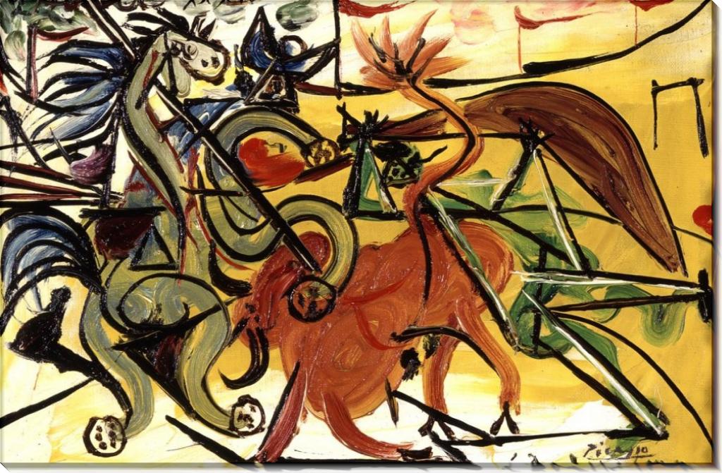 Коррида - Пикассо, Пабло