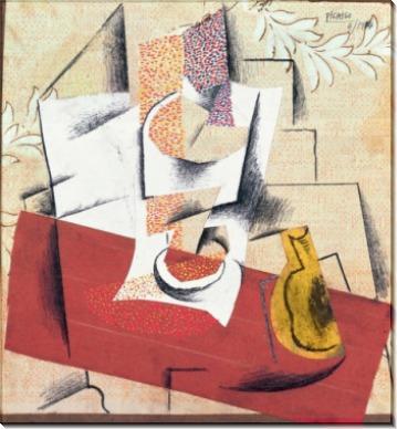 Композиция с обрезанной грушей - Пикассо, Пабло