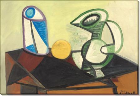 Стакан и кувшин - Пикассо, Пабло