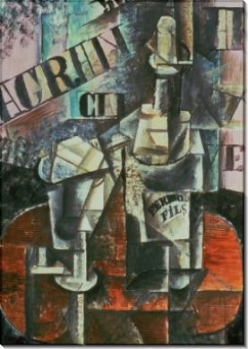 Бутылка Перно - Пикассо, Пабло