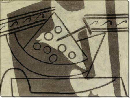 Компотница с виноградом - Пикассо, Пабло