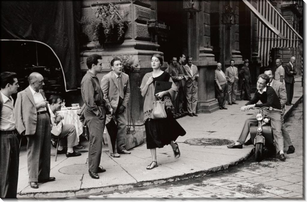 Американка во Флоренции, 1951 - Оркин, Рут