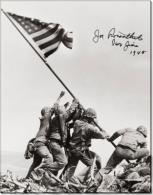 Поднятие флага на Ио Дзима, 1945 - Розенталь, Джо