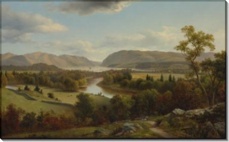 Вид на реку Гудзон из Нью-Виндзора - Джонсон, Дэвид