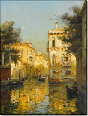Пейзаж в Венеции - Бувар, Антуан