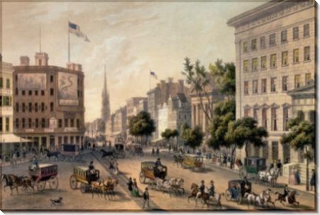 Бродвей в XIX веке - Кёльнер, Август