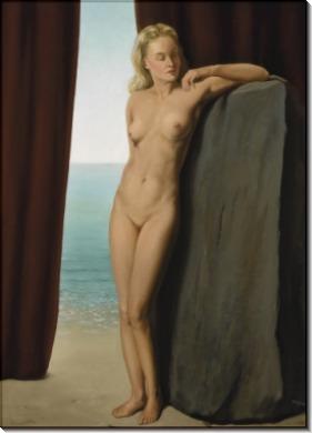 Женщина  зеркале - Магритт, Рене