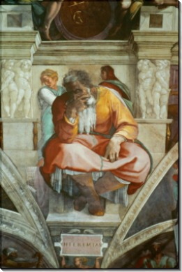 Иеремия - Микеланджело Буонарроти