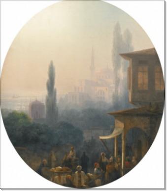 Рыночная площадь в Константинополе - Айвазовский, Иван Константинович