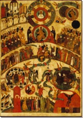Страшный суд (Первая половина XVI века) (162 х 115 см)