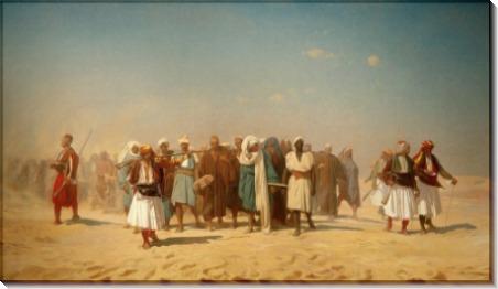 Египетские наемники в пустыне - Жером, Жан-Леон