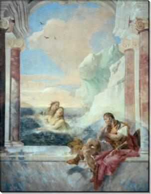 Фетида утешает Ахиллеса - Тьеполо, Джованни Баттиста