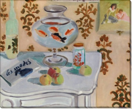 Ваза с золотыми рыбками - Матисс, Анри