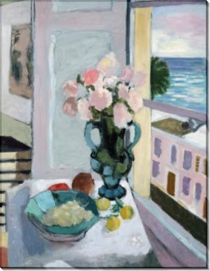 Цветы напротив окна - Матисс, Анри