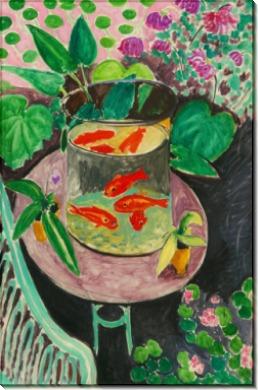 Красные рыбы - Матисс, Анри