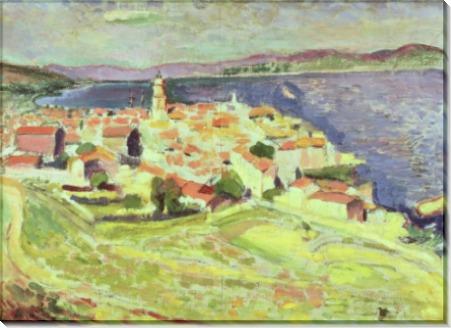 Пейзаж с видом на Сен-Тропе - Матисс, Анри