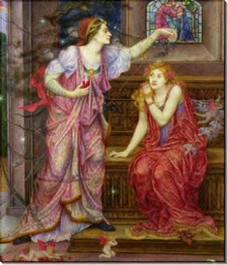 Королева Алиенора и Прекрасная Розамунда - Морган, Эвелин де