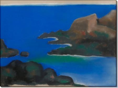 Голубое море и скалы - О'Кифф, Джорджия