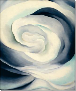 Абстракция в белом и розовом - О'Кифф, Джорджия
