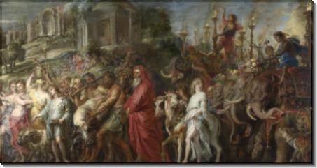 Триумф в Древнем Риме -  Рубенс, Питер Пауль