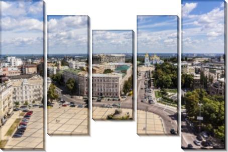 Вид на Софиевскую площадь - Сток