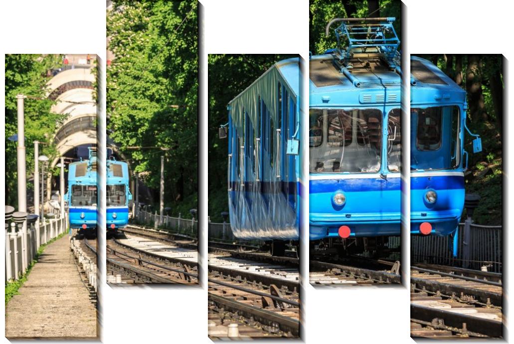 Фуникулер в Киеве - Сток