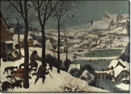 Охотники на снегу - Брейгель, Питер (Старший)