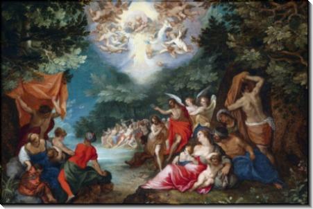 Крещение Христа - Брейгель, Ян (Старший)