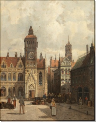 Площадь в Оксфорде - Зиген, Август фон