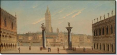 Площадь святого Марка, Венеция - Зиген, Август фон