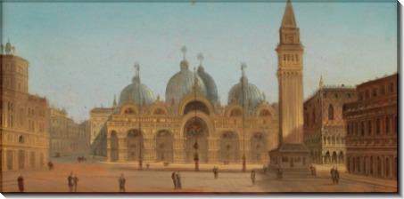 Площадь и собор святого Марка, Венеция - Зиген, Август фон