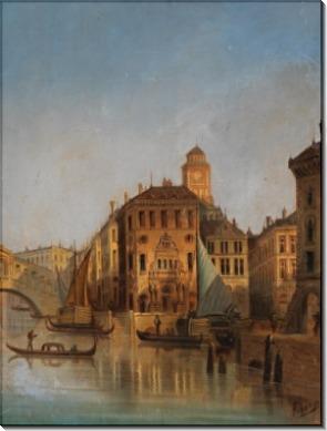 Большой канал, Венеция - Зиген, Август фон