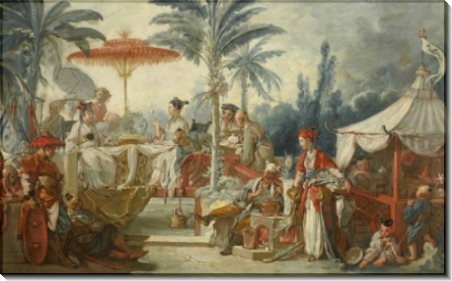 Двор китайского императора - Буше, Франсуа
