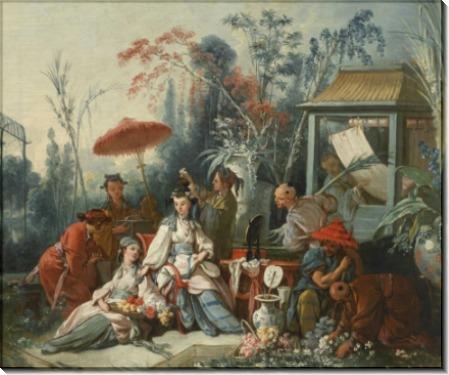 Китайский садик - Буше, Франсуа
