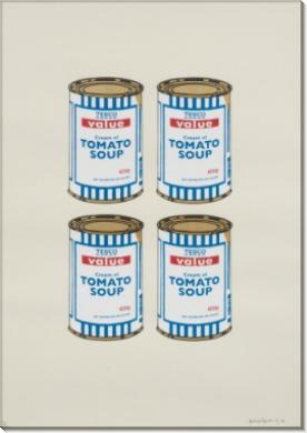 Четыре банки супа - Бэнкси