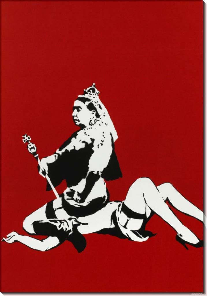 Королева Вик - Бэнкси