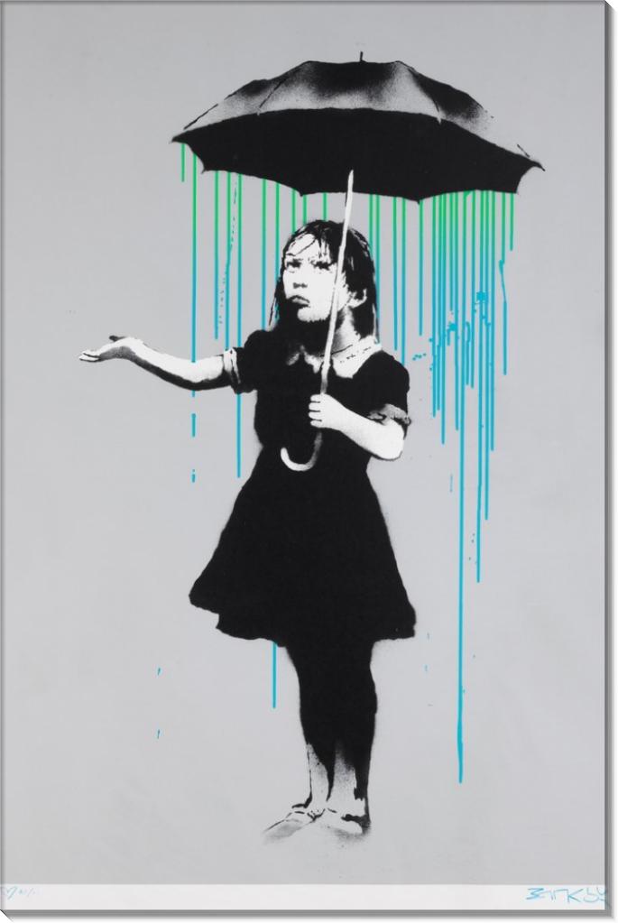Нола (Сине-зеленый дождь) - Бэнкси
