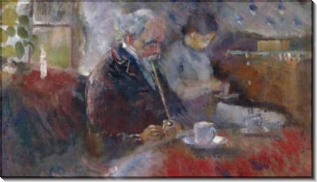 За кофейным столиком - Мунк, Эдвард
