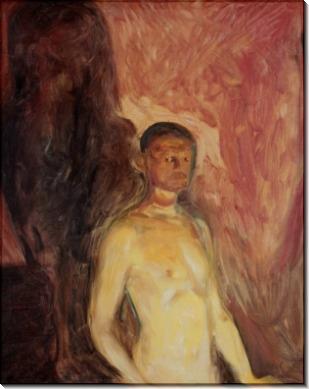 Автопортрет в аду - Мунк, Эдвард