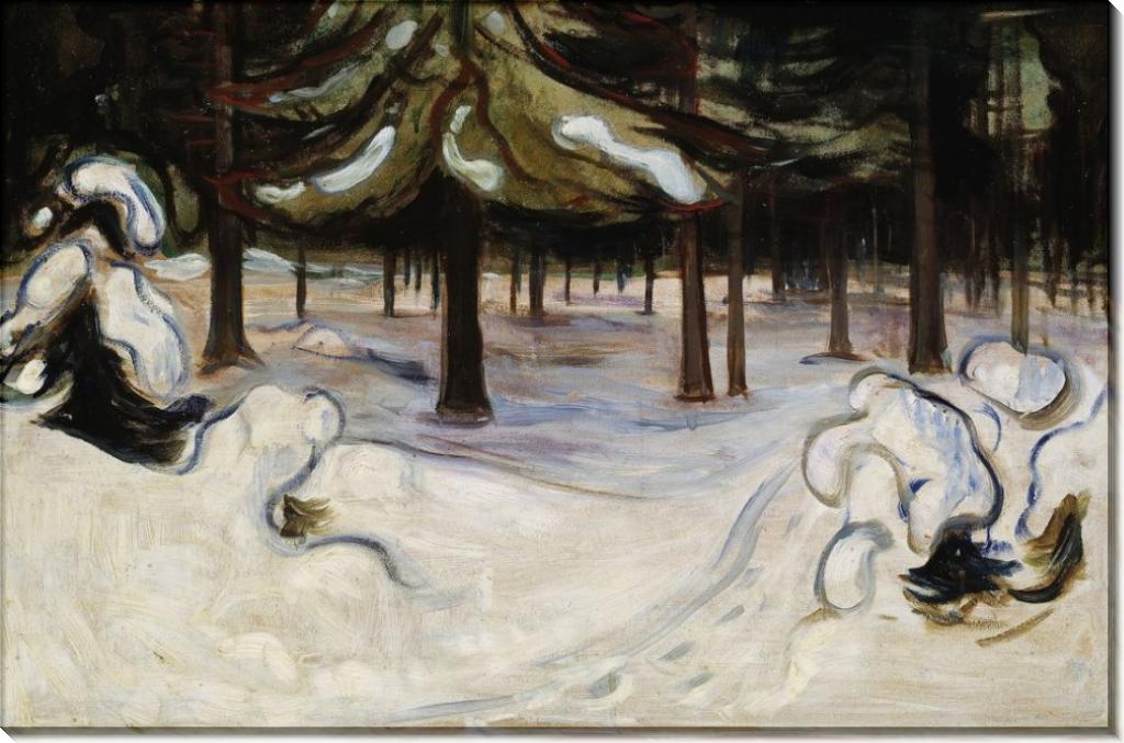 Зима - Мунк, Эдвард