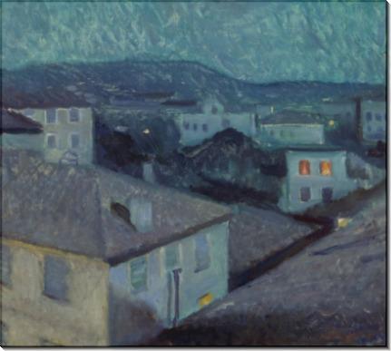 Ночь в Ницце - Мунк, Эдвард