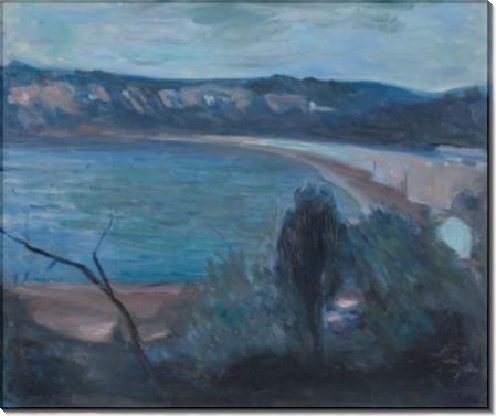 Лунная ночь в Средиземноморье - Мунк, Эдвард