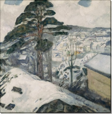 Зима в Крагерё - Мунк, Эдвард