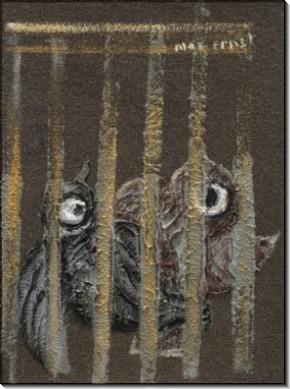 Птицы в клетке - Эрнст, Макс