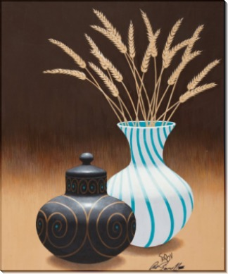 Ваза с пшеницей - Сарноф, Артур