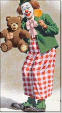 Клоун с медвежонком Тедди - Сарноф, Артур