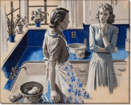 Беседа на кухне - Сарноф, Артур