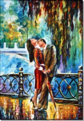 Поцелуй под дождем - Афремов, Леонид (20 век)