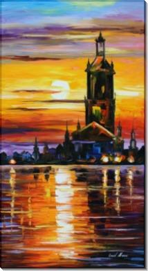 Старинная башня - Афремов, Леонид (20 век)